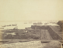 Galle Harbour [from ramparts]